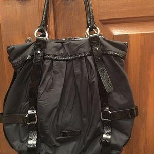 "6f1cfa288b Cole Haan Bags - COLE HAAN ""Kyle"" Black Nylon & Patent Tote Handbag"